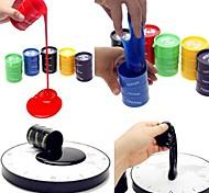1pcs mini-emulational reciclável balde de tinta pote apaziguador piada prático gadgets (cor aleatória)