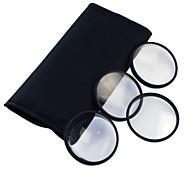 55mm Makro-Filter Set mit PU-Ledertasche (+1, +2, +3, +4)