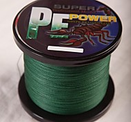 New Fighter Brand Multifilament PE Braided Fishing Line Carp 1000m Super Strong 4 Stands 60/70/80/100lb