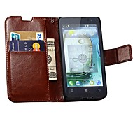 Retro PU Leather Wallet Case for Lenovo P770 (Assorted Colors)