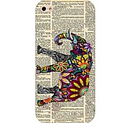 timbrare elefante modello rigido posteriore Case for iPhone 4 / 4s