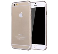 Solid Color Clear TPU Soft Case for iPhone 6 Plus (Assorted Colors)