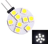 GC® G4 1.5W 9x5050 SMD 80LM Warm/White LED Bi-pin Spot Light Bulb (DC 12V)