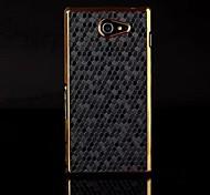 kemile роскошные золотые хром алмаз соизволил жесткий CAE крышку для ONY Xperia м2 50h (aorted цвета)