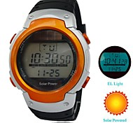 Men's LED Wath Fashion Silicone Strap Multi-Function Waterproof Sports Watch (Assorted Colors)