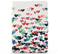 Little Love Pattern PU Leather Full Body Case with Stand  for iPad Mini 1/2/3