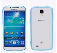 Transparent Inferior Smooth Silicone Mobile Phone Sets for Samsung  Galaxy S4 SIV i9500
