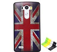 British Flag Pattern PC Hard Case and Phone Holder for LG G3
