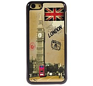 Sights of London Design Aluminum Hard Case for iPhone 5C