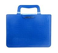 Lureme® Fashion Crocodile Grain Handbag for iPad 3/4