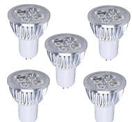 MORSEN Lâmpada de Foco/Lâmpada PAR Regulável GU5.3 5 W 350-400 LM 3000-3500 K Branco Quente 1 SMD 2835 5 pçs AC 110-130 V PAR