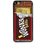 Chocolate Design Aluminum Hard Case for iPhone 5C