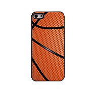 Basketball Design Aluminum Hard Case for iPhone 5/5S