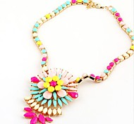 Women's New Colorful Daisy Necklace