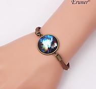 Eruner®Handmade Fashion Women's Pretty Galaxy Cosmic Moon Lace Bracelets