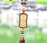 LEBOSH®High-quality Goods Pear Wood Pendant Boxwood Pendant