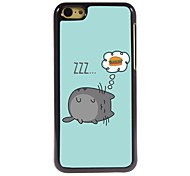 Lovely Mouse Design Aluminum Hard Case for iPhone 5C