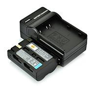 DSTE D-LI50 NP-400 Li-ion + cargador DC11 para PENTAX K10D K20D Minolta 5D 7D A1 A2 a-5 a-7 SAMSUNG GX-10 GX-20