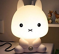 20W Smart Rabbit Cute Cartoon Small Table Lamp 220V