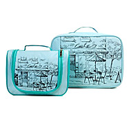2Pcs Travel Man Portable Cosmetic Bag