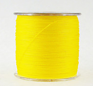 500M / 550 Yards PE Braided Line / Dyneema / Superline Fishing Line Yellow 10LB / 12LB / 15LB / 18LB / 20LB / 25LB / 30LB