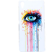 For Sony Case Pattern Case Back Cover Case Punk Soft TPU for Sony Sony Xperia Z2