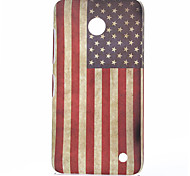 America Pattern Plastic Hard Cover for Nokia N630