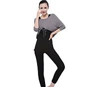 moda yoga idoneità abbigliamento vestiti delle donne 3 set