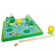 benho madera de abedul rana juego juguete educativo de madera