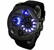 Men's LED Silicone Band Wrist Watch (Assorted Colors)