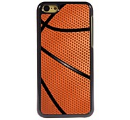 Basketball Design Aluminum Hard Case for iPhone 5C