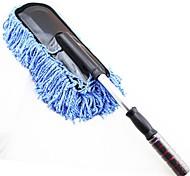 lebosh®microfiber cera mop duster carro produtos de limpeza carro escaláveis