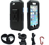 IPX4 Waterproof Tough Case Motorcycle Bike Handlebar Mount for Apple iPhone 6