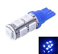 gc® t10 2w 200lm 9 × 5050 SMD ha condotto la luce di colore per lampade luce dello strumento auto / porte / tronco (dc 12v)