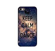 manter caixa de alumínio projeto calma e dança para iPhone 5 / 5s