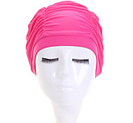 Sanqi Unisex Fashional Waterproof Ear & Hair Protection Swimming Cap