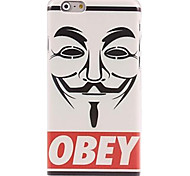 Obey Face Pattern Case for iPhone 6