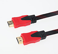 20m 65.6ft HDMI между мужчинами высокоскоростного позолоченной компьютерного кабеля для портативных ПК HDTV DVD PS3 - черный