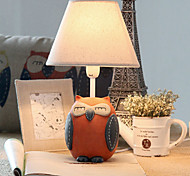40W LED Owl Vintage Style Cartoon Dimming Small Table Lamp 220V(Assorted Colors)