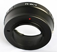 Pentax PK K mount Lens To Olympus Panasonic Micro 4/3 M43 Adapter E-P5 GF6 GH3