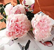 "Art 2PCS Pink Artificial Peony Flower 29.1"" Stem for Wedding and Home Decoration"