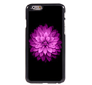 Pink Lotus Design Aluminium Hard Case for iPhone 6