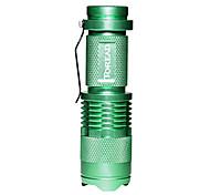 Lanternas LED (Foco Ajustável) - LED Modo 140-200 Lumens LED - paraCampismo / Escursão / Espeleologismo / Ciclismo / Viajar / Condução