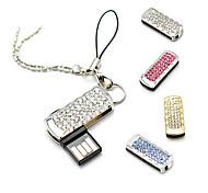 Amotaios AMO-UZ069(16G) 16GB USB 2.0 Flash Pen Drive Keychain/Crystal
