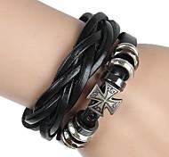 Bracelet Bracelets de rive / Bracelets de tennis / Bracelets d'amitié / Bracelets Wrap / Bracelets Vintage / Bracelets en cuirAlliage /