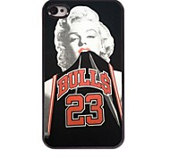Bulls 23 Design  Aluminum Case for iPhone 4/4S