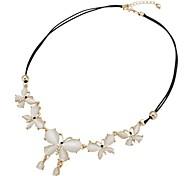 Fashion Butterfly Women Opal Necklaces Random Color