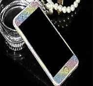 design superbe de poudre de diamant de lumière clignotante corps entier un film de protection pour iPhone (6 couleurs assorties)