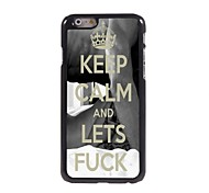 Keep Calm and Lets Fuck Design  Aluminum Case for iPhone 6