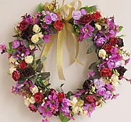 charmoso cor da decoração de flores pendurados verão